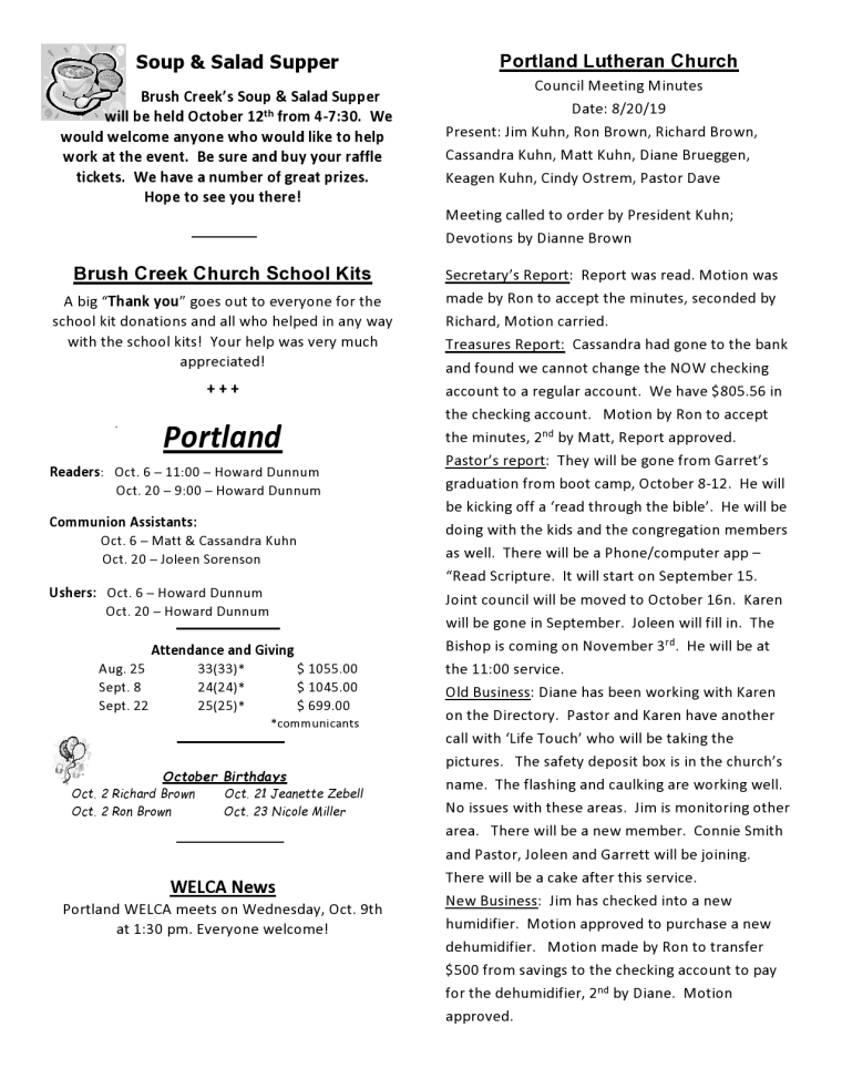 Oct 19 Newsletter - Churches-page0002